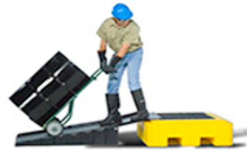 Ultra P1 Ramp, P4 Ramp, Non-Slip, Polyethlene & Steel