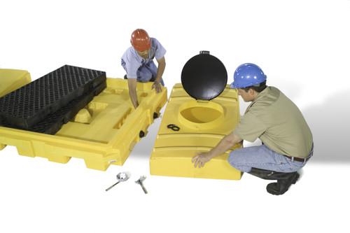 IBC Spill Pallet Expansion Tank