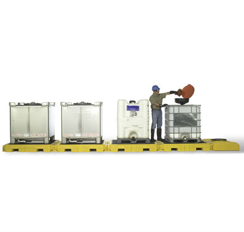 Ultratech Indoor IBC Secondary Spill Containment Pallet