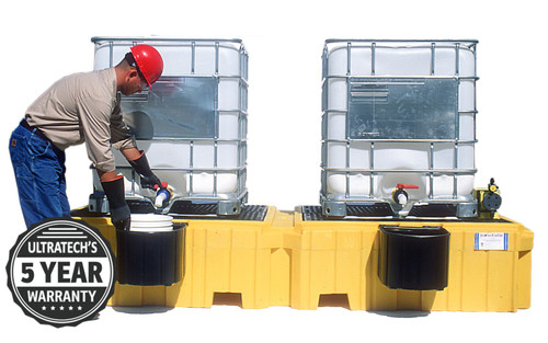 Ultra IBC Spill Containment Pallet
