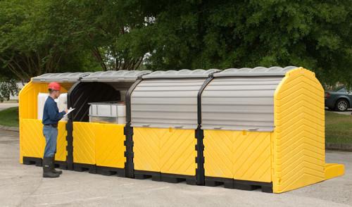 Ultratech Outdoor Modular IBC Spill Pallet Containment