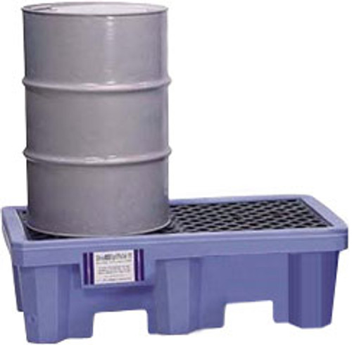 Ultra-Spill Pallet P2 Flourinated - 1212 - 2 Drum - No Drain