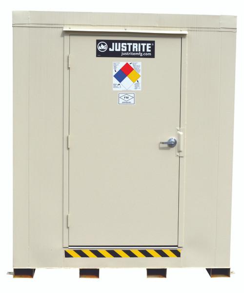 Justrite 16 Drum Outdoor Safety Locker