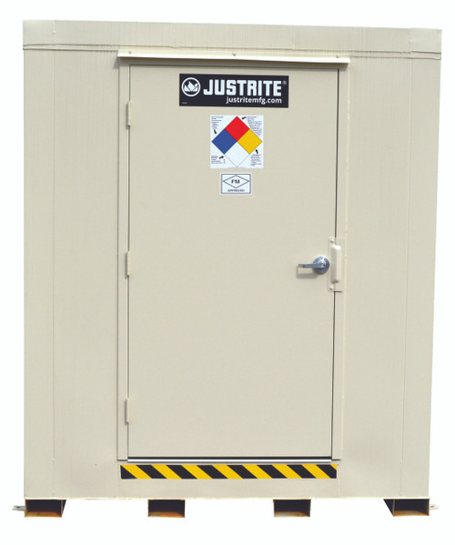 Justrite Fire Rated 16 Drum Storage Building