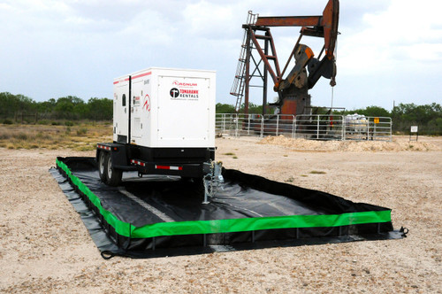 Ultratech Collapsible Wall Spill Berm