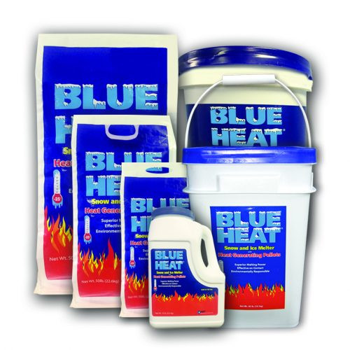 Pallet Blue Heat Snow & Ice Melter - 56 x 50 lb Bags