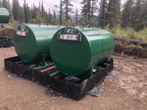 L-Bracket  Fuel Spill Berm
