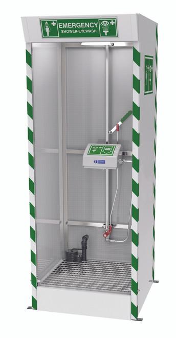 Emergency Cubicle Lab Shower