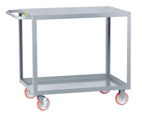 Flush Steel Top Service Cart