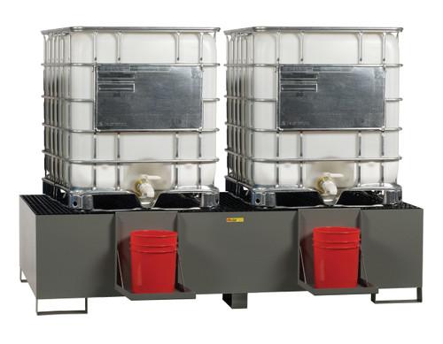 Double IBC Containment Unit
