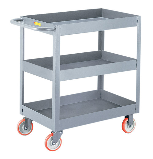 Little Giant Industrial Cart w/3 Shelves