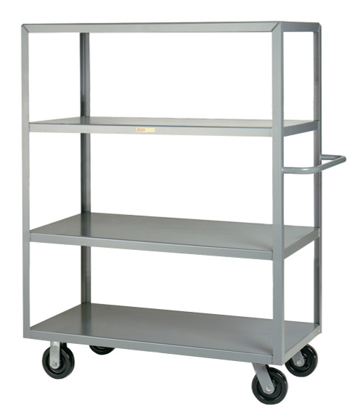 4 Shelf Storage Rack on Wheels