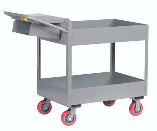 """Picking Cart w/6"""" Deep Shelves"""