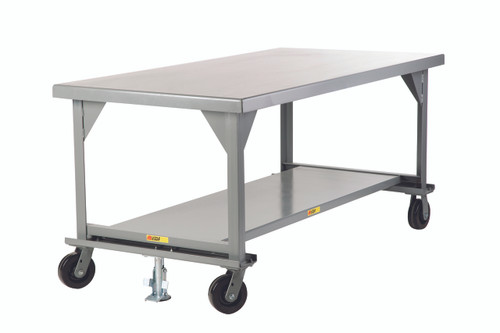 Mobile Workbench w/Casters and Floor Lock