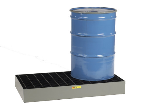 2 Drum Low Profile Steel Spill Pallet
