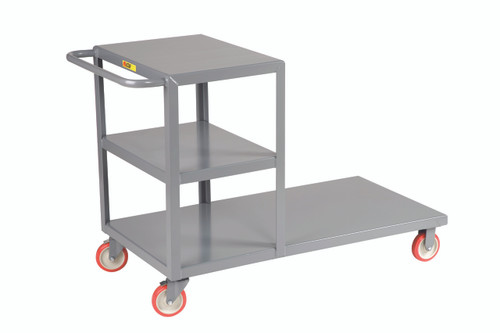 Combo Shelf and Platform Truck
