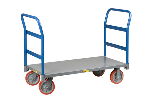 Double Handle Platform Cart