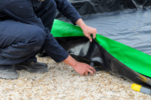Ultratech Collapsible Wall Containment Berm