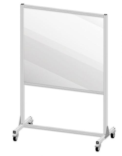 Large Mobile Partition Shield
