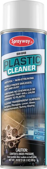 Plastic Cleaner Aerosol Spray