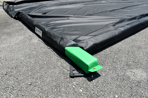 Removable Foam Wall Spill Containment Berm