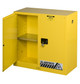 Justrite Safety Cabinet w/Door Open