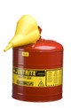 Justrite 5 Gallon Type-I Safety Can w/Funnel - 7150110