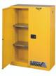45 Gallon Flammable Cabinet Open Door