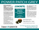 POWER PATCH GREY LABEL - AC-970