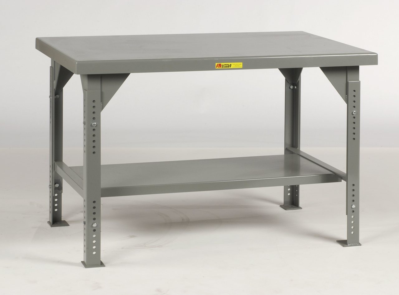 Strange Little Giant Heavy Duty Workbench Adjustable Height 42X84 Ocoug Best Dining Table And Chair Ideas Images Ocougorg
