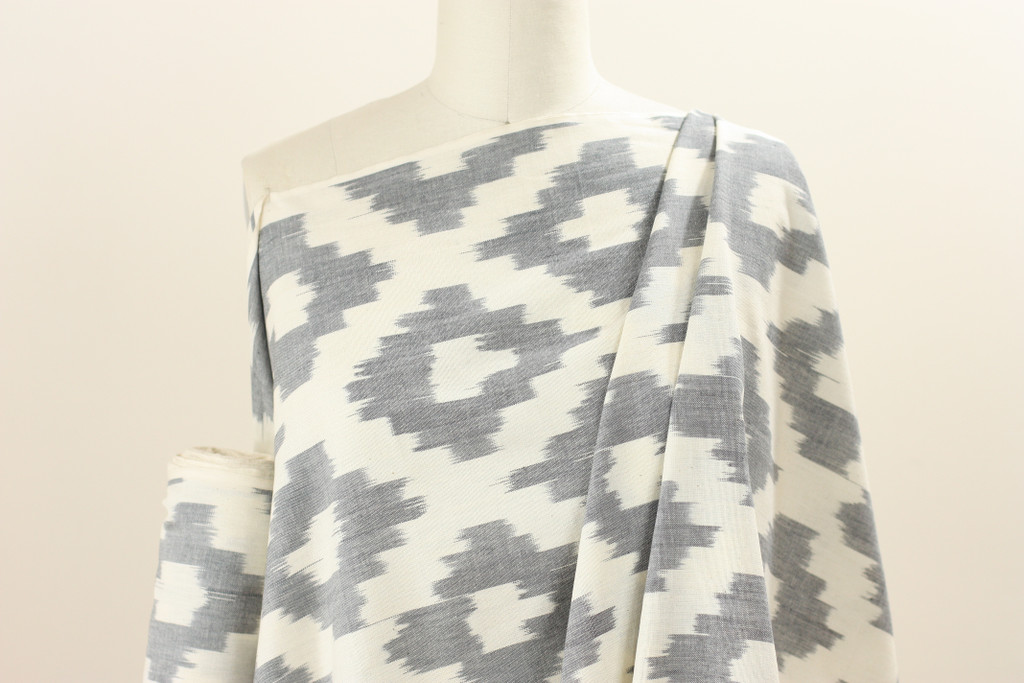Light Grey Ikat
