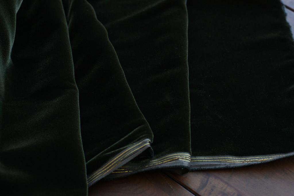 Forest Green Velvet