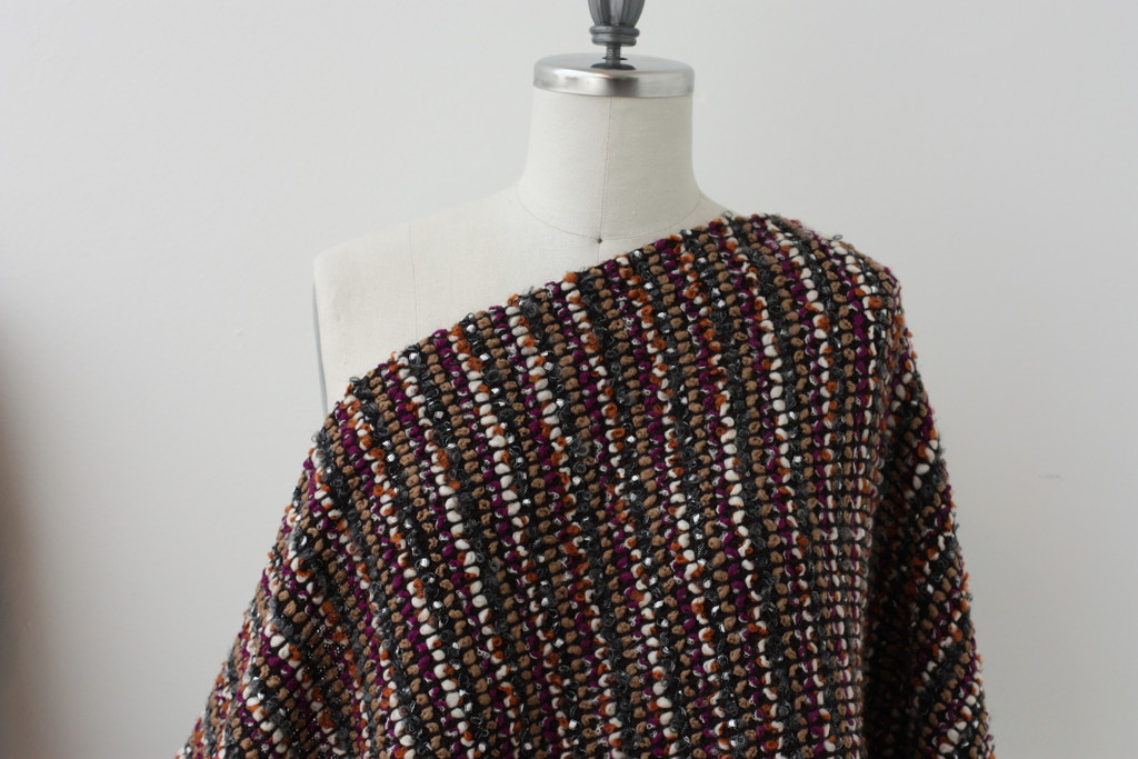Rust Boucle Wool