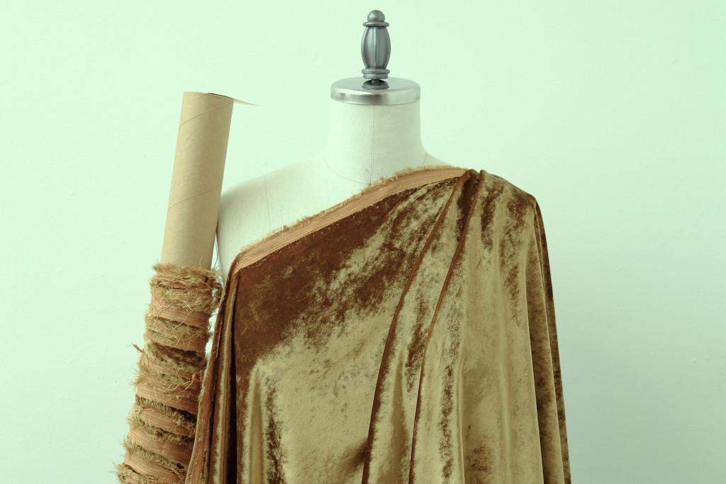 Golden Okra Velvet
