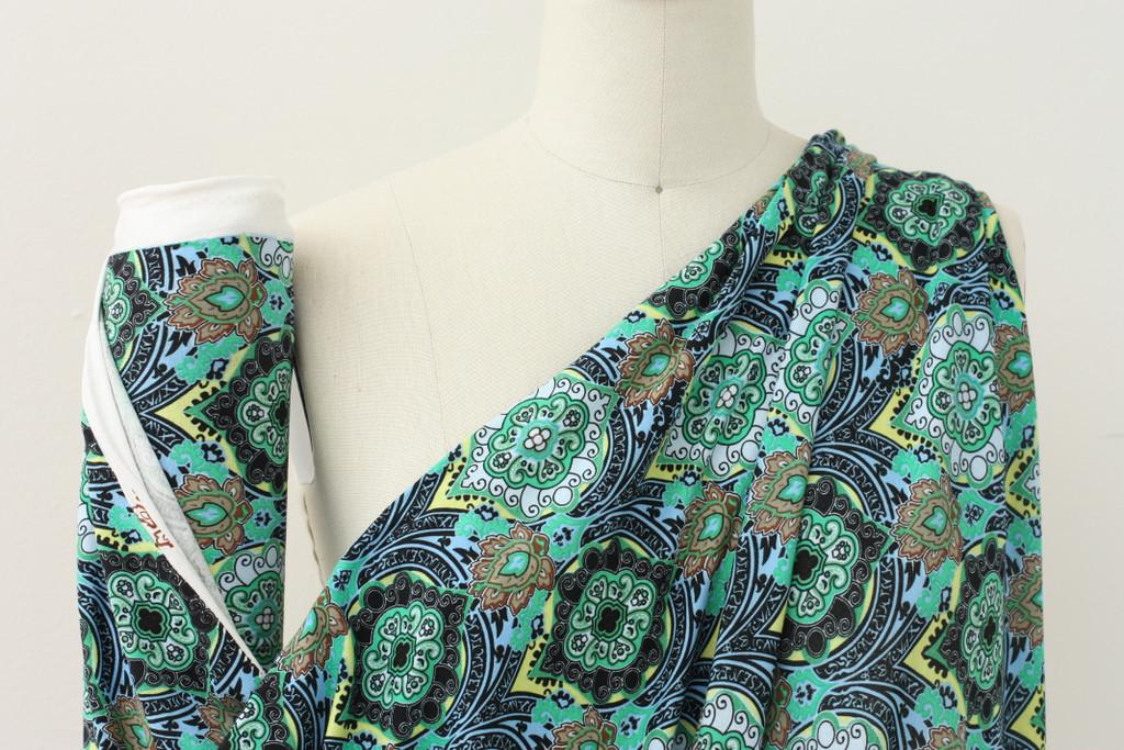 Green Tile Knit