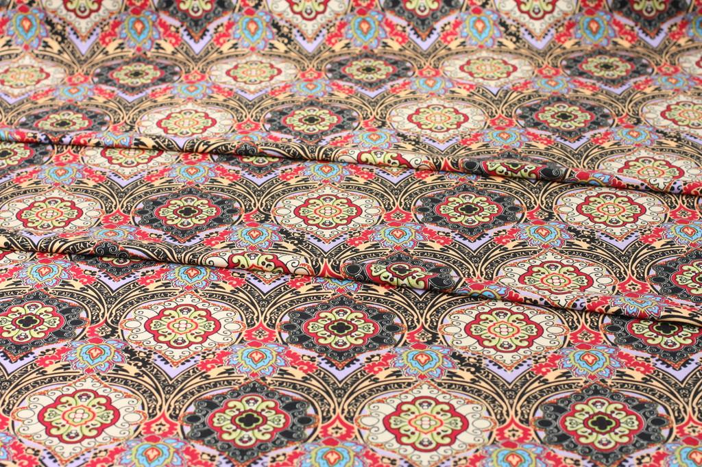 Rouge Tile Knit Remnant