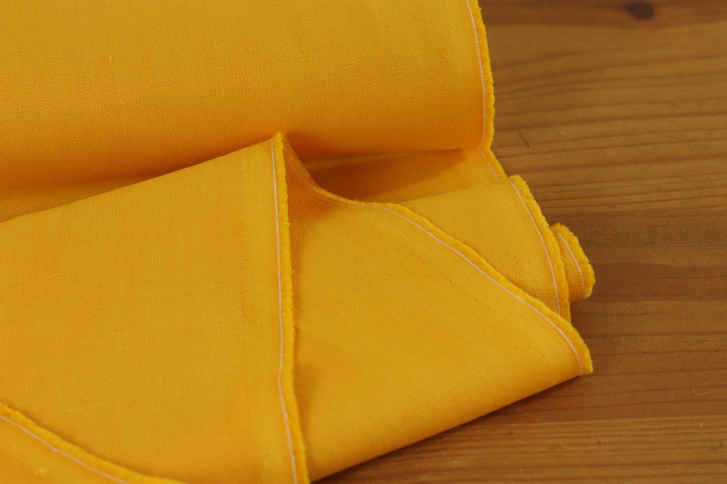 Golden Yellow Linen