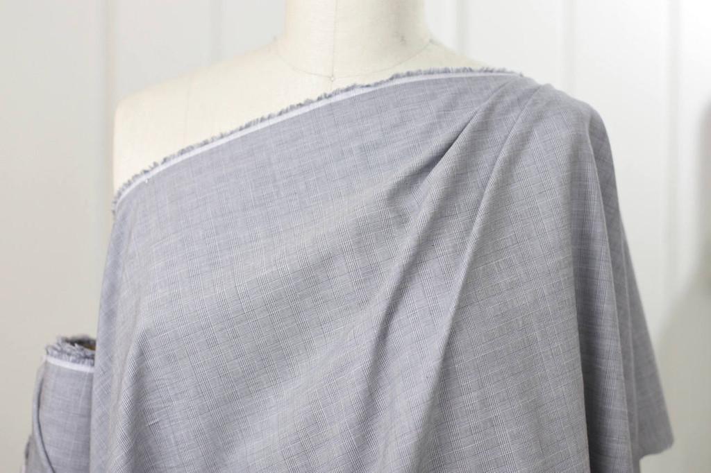 Fine Hatch Cotton Shirting