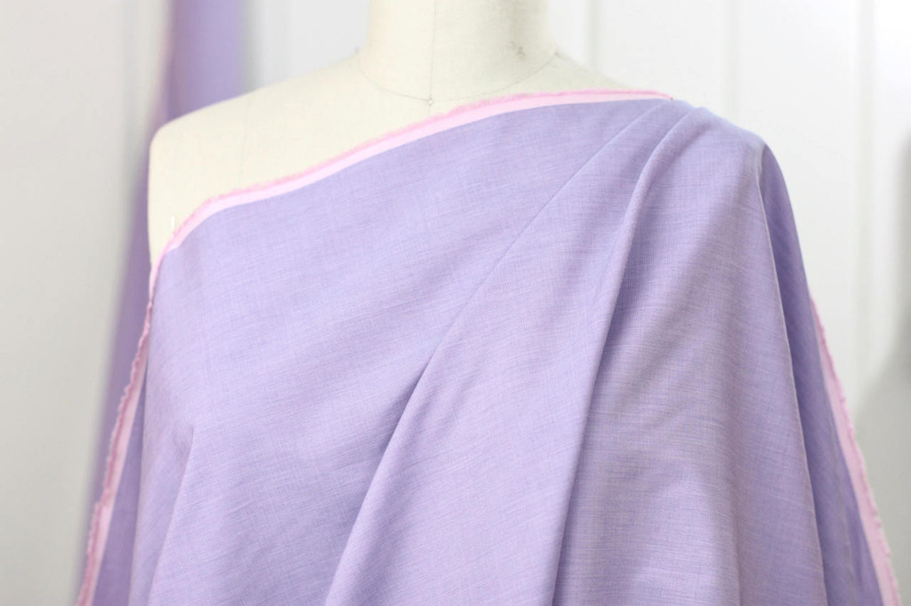 Lavender Cotton Shirting