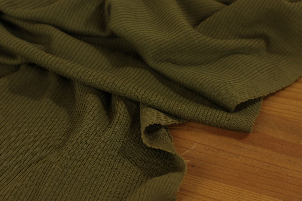Moss Green Wool Knit
