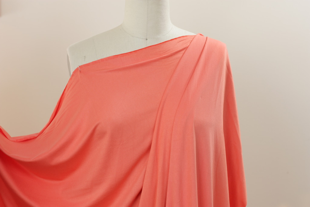 Coral Jersey Knit
