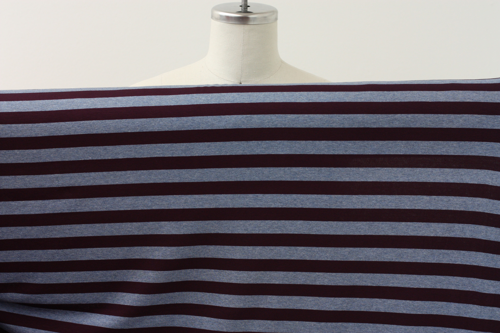 Blueberry Stripe Knit