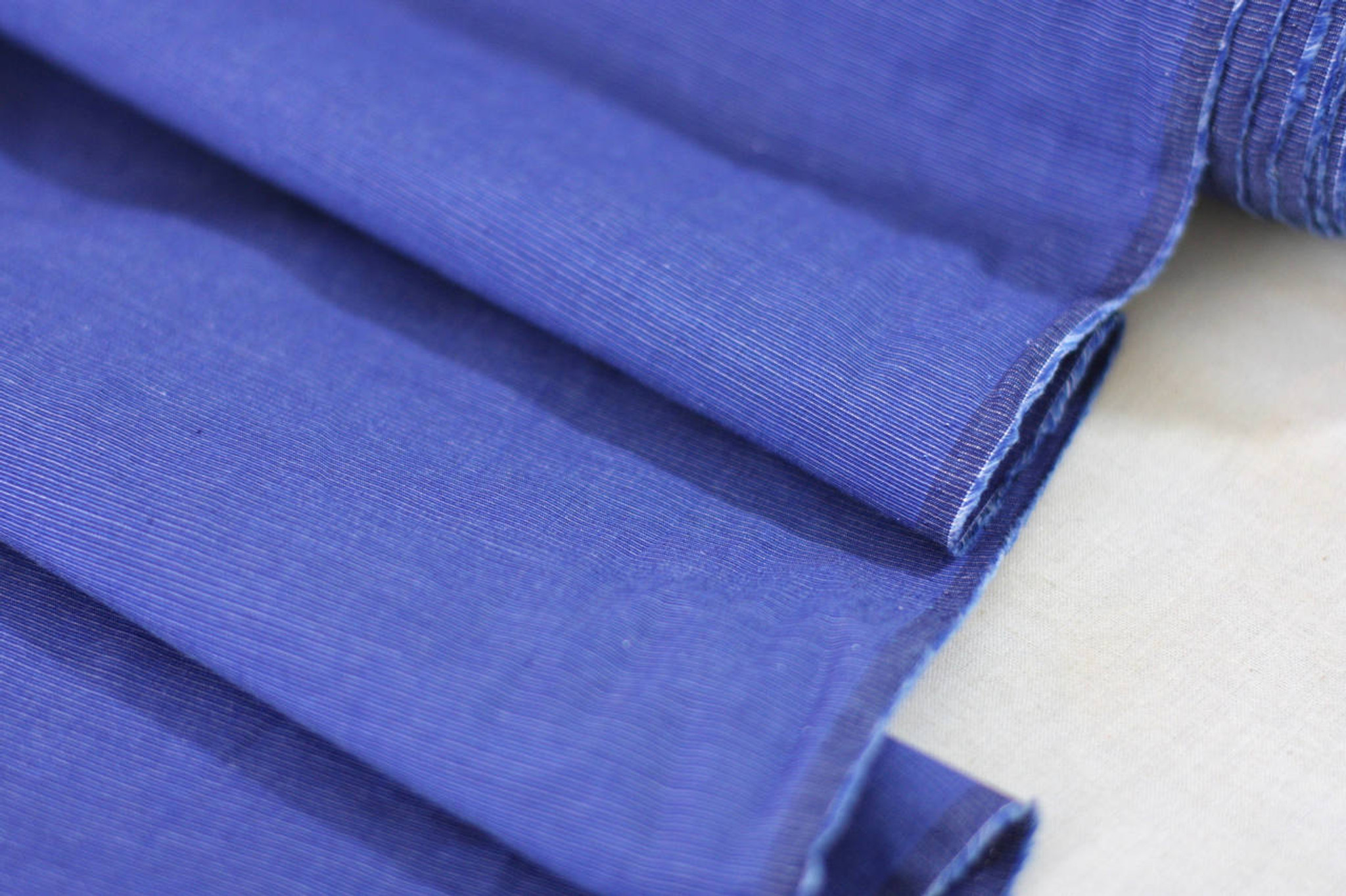 Indigo Cotton Shirting