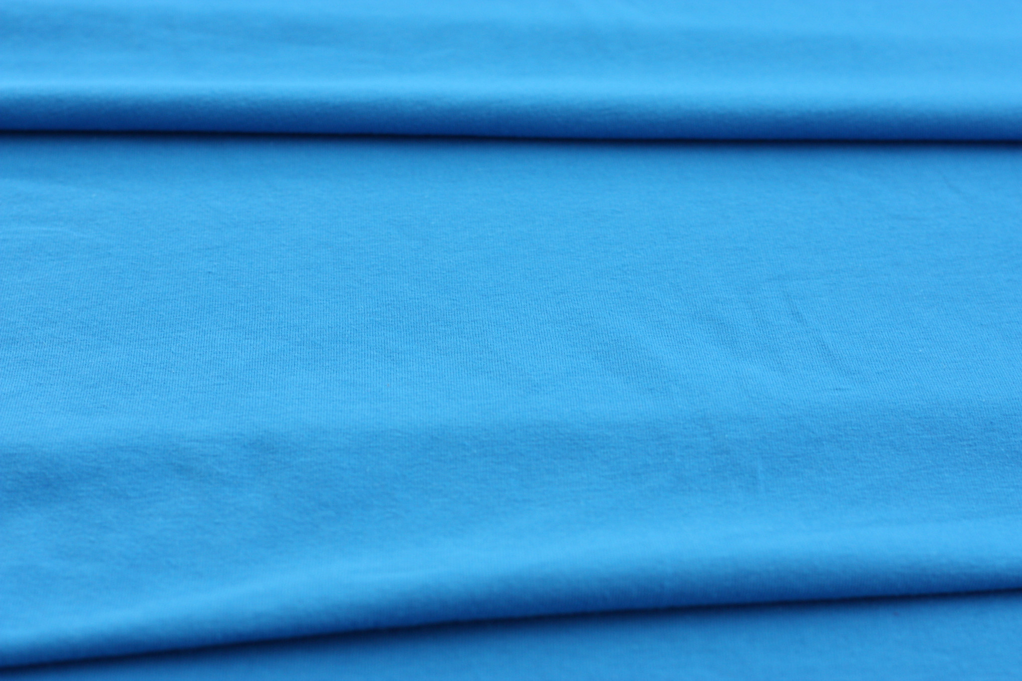 Turquoise Cotton Knit