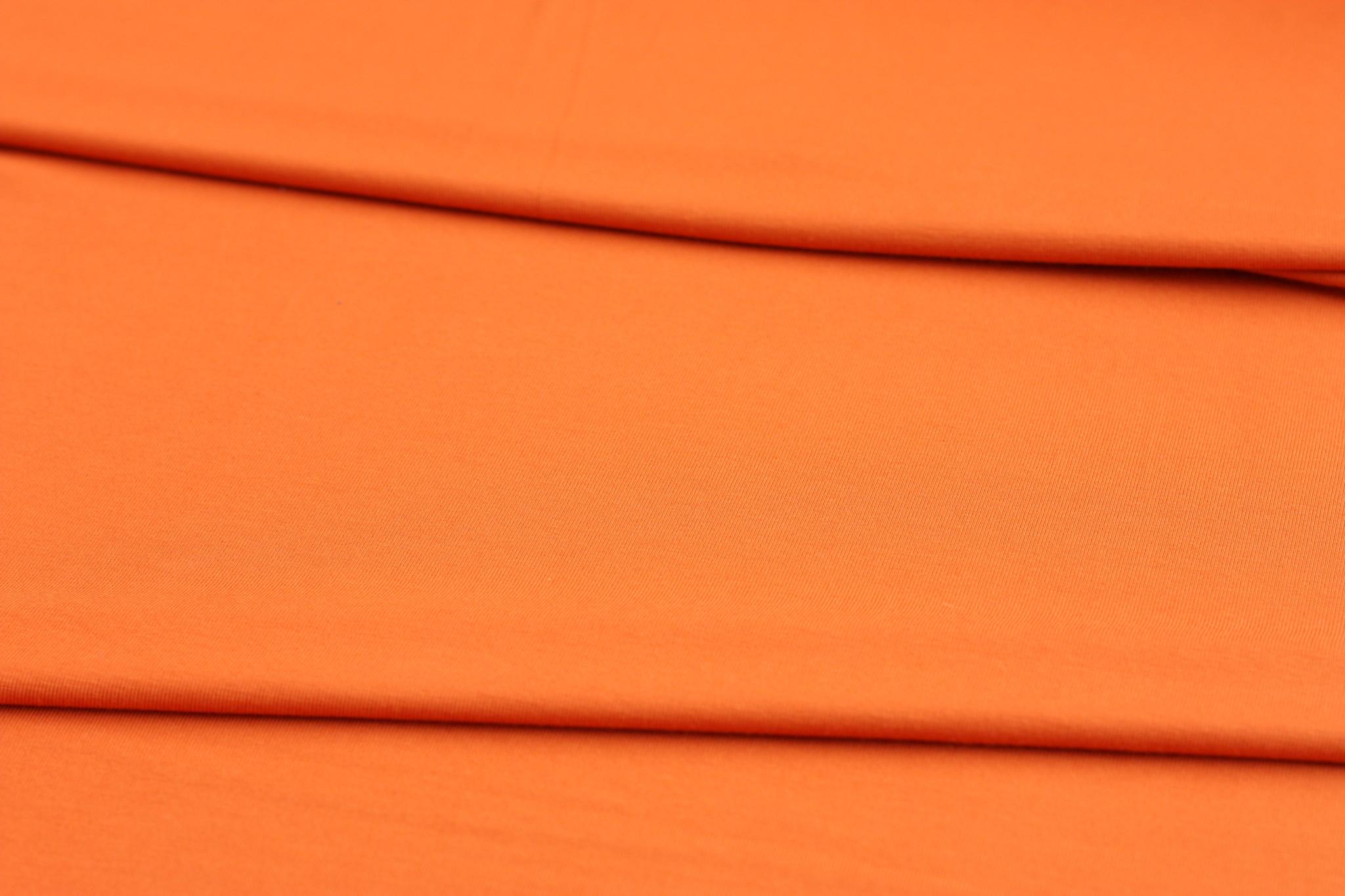 Burnt Orange Bamboo Jersey
