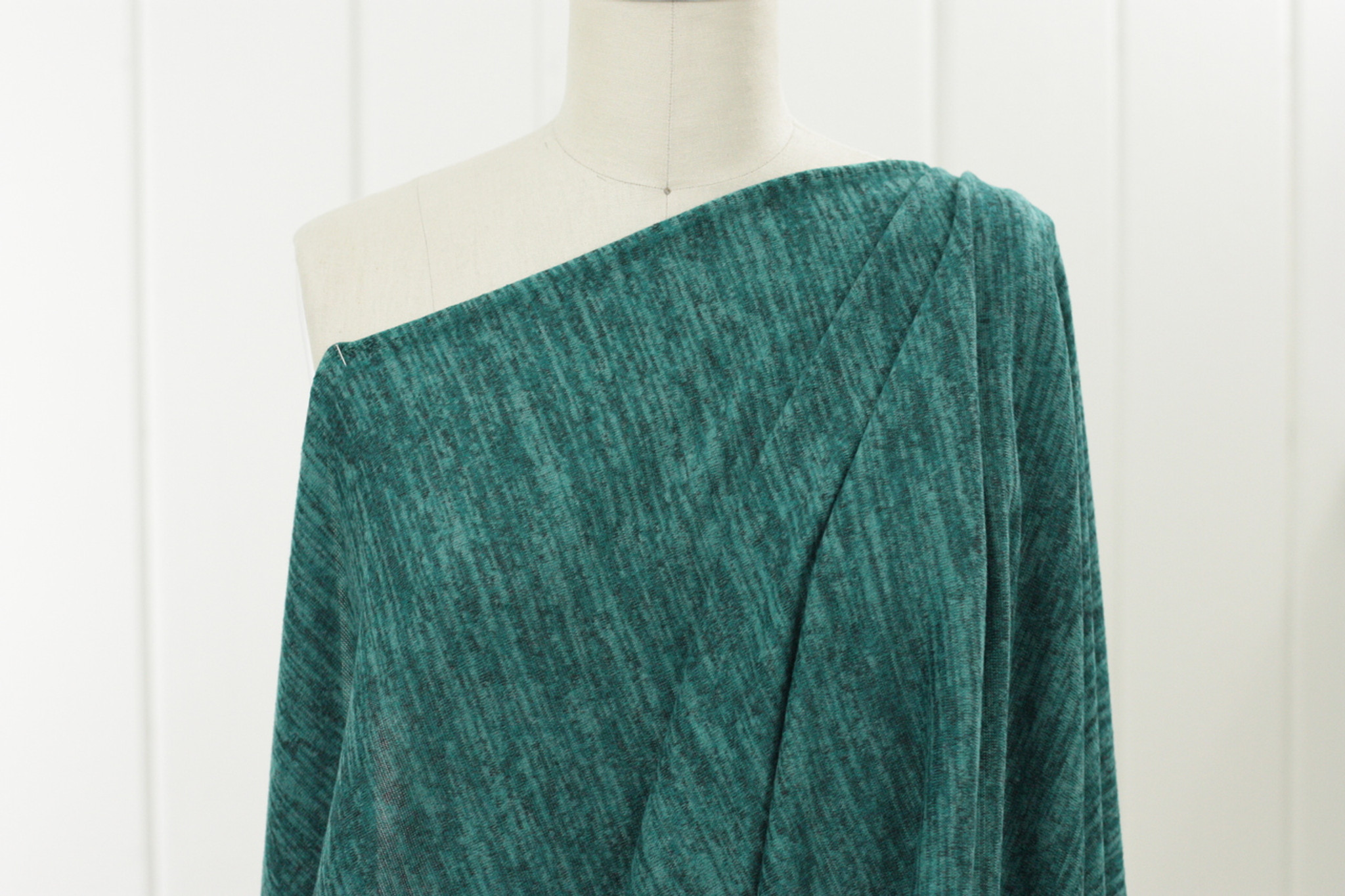 Teal Sweater Knit