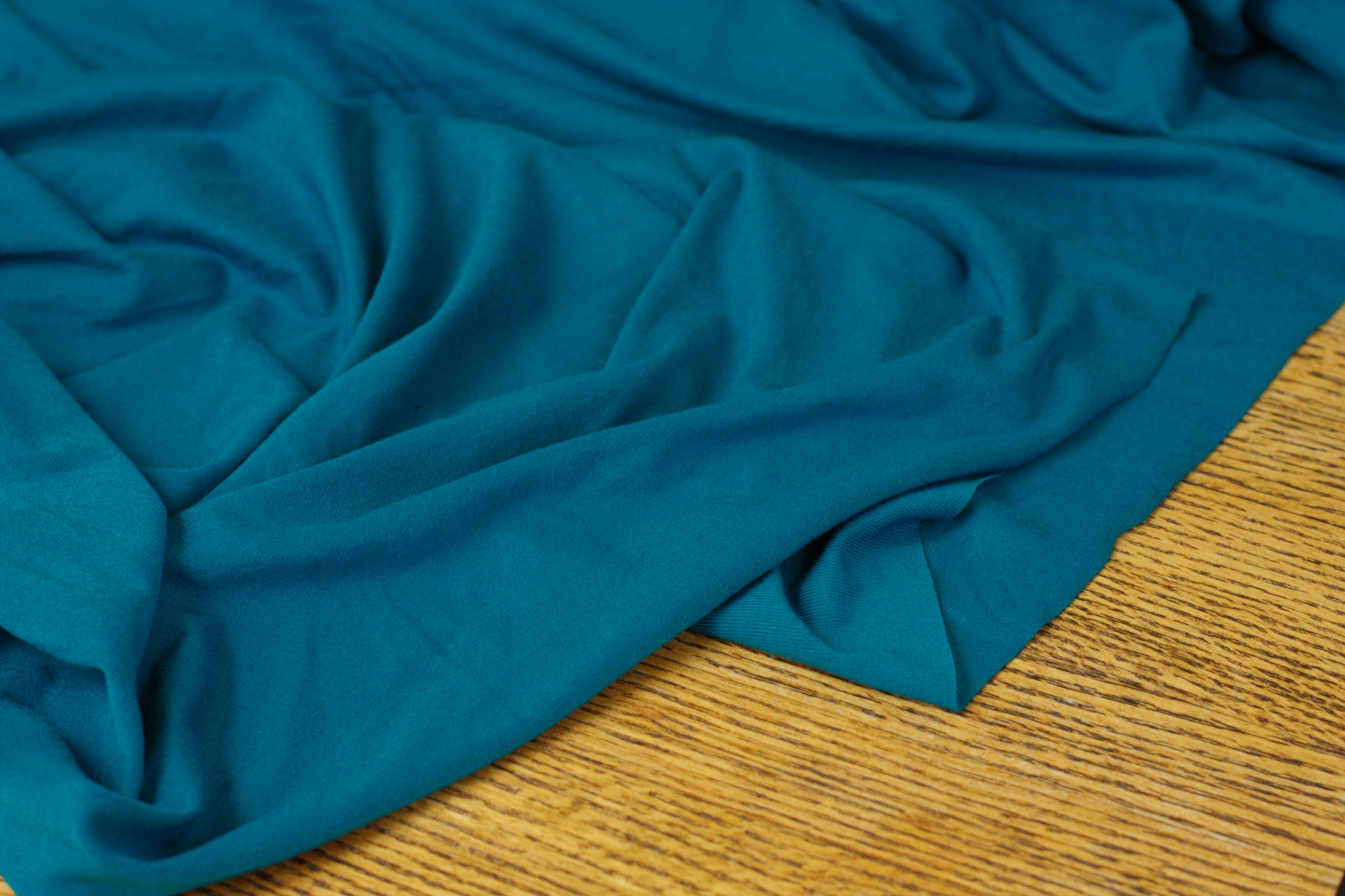 Turquoise Jersey Knit
