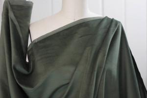 Loden Green Velveteen