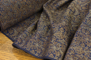 Midnight & Sand Brocade