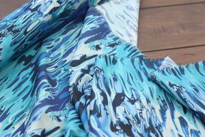 Ocean Marble Cotton